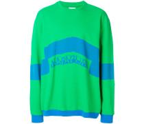 block colour sweatshirt