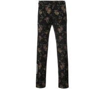 tapestry print trousers