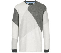 Sweatshirt mit geometrischer Musterung