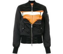 front chest hole jacket