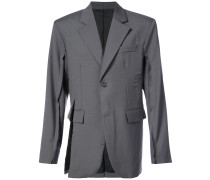 cut single breasted blazer