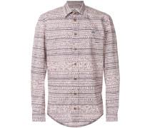 Hemd mit 'Kritzel'-Muster