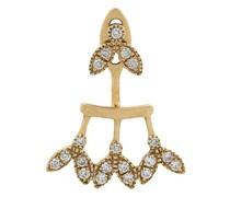18kt Goldohrring mit Diamanten
