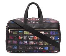 Reisetasche mit grafischem Print