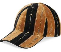 'Chenille' Baseballkappe mit Print