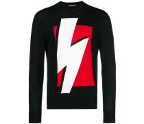 Pullover mit Blitzmotiv
