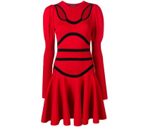 cut out knitted dress