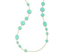 18kt  Crazy 8's necklace
