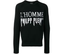 'L'homme ' Intarsien-Pullover