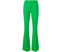 slim flared trousers