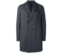 Mantel mit doppelreihigem Knopfverschluss