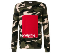 'Anywhen' Pullover mit Camouflage-Print