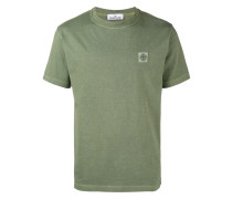 T-Shirt mit Logo-Patch