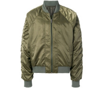 cross laced sheen bomber - Unavailable
