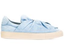 Slip-On-Sneakers mit Schleife