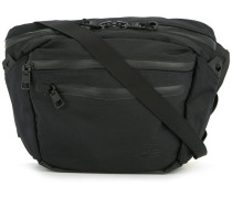square zipped shoulder bag