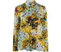 Hemd mit Schmetterling-Print