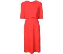 Kleid mit Cape-Ärmeln
