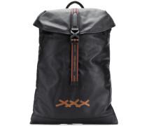Rucksack mit eingeprägtem Logo