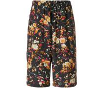 Shorts mit floralem Print