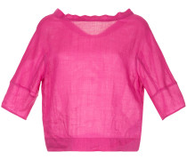 V-neck reverse blouse