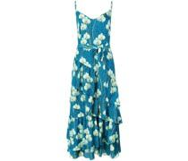 Kleid mit floralem Animal-Print