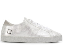 D.A.T.E. Sneakers im Metallic-Look