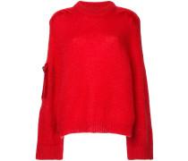 Pullover mit kontrastierenden Patches