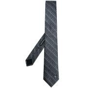 Krawatte mit Sicherheitsnadelmuster