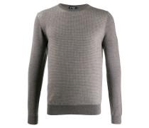 Pullover mit Fischgrätenmuster