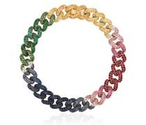 18kt 'Rainbow' Gelbgoldarmband
