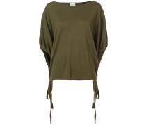 Schmaler Pullover mit kurzen Ärmeln