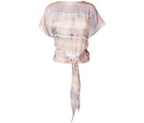 Oberteil im Batik-Look