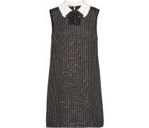 Bouclé-Kleid mit Pailletten