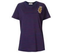 'Badge Stripe' T-Shirt
