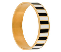 monochrome striped bracelet