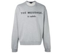 - 'The Message' Sweatshirt - men - Baumwolle - XL