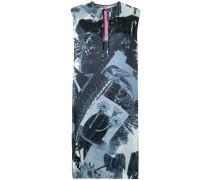 Kleid mit Collagen-Print