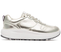 'Jet' Sneakers im Metallic-Look