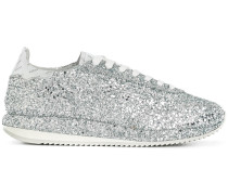 Glitzernde Metallic-Sneakers