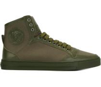 High-Top-Sneakers mit Medusa-Logo