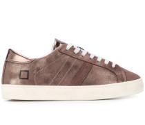D.A.T.E. 'Hill' Sneakers im Metallic-Look