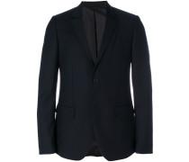 double lapel slim-fit blazer