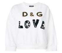 """Sweatshirt mit """"Love""""-Verzierung"""