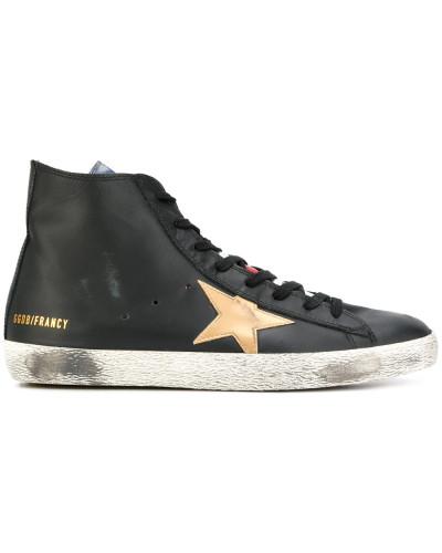 Golden Goose Herren 'Francy' High-Top-Sneakers Auslass Für Billig Bester Platz Spielraum Exklusiv Die Billigsten TTOuAs