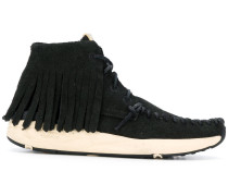 Mokassin-Sneakers mit Fransen