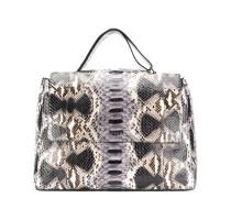 'Sveva' Handtasche aus Schlangenleder