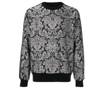 Jacquard-Sweatshirt mit DG-Patch