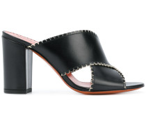 crossover strap mules