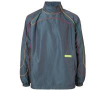 Jacke mit Paspeln in Regenbogenfarben